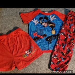 Mickey mouse 4t 3 PC pjs